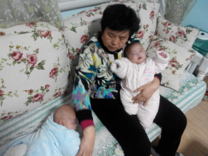 2015年1月21日,妈妈发烧隔离了