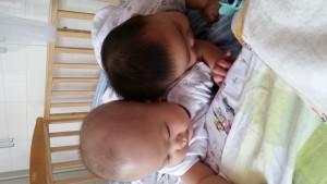 20150826,早起的两人