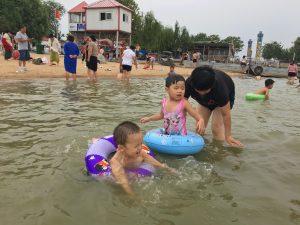 20170812,醒来吧,爸爸带你去游泳