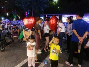 20180914,逛街惊喜遇到气球
